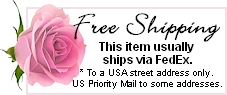 Free USA standard delivery.