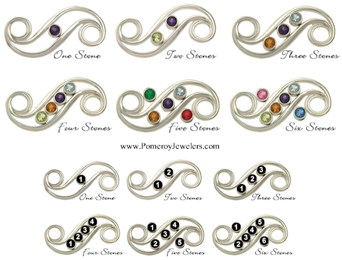 The Cord Is Finished With A Sterling Silver Clasp And Catch Beautifully Produced By Craftsmen In Usa Other Mothers Bracelet Toppers Are Also