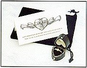 Gift Wrapped Heart Chastity Ring