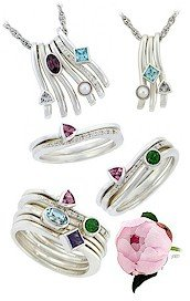 Stack Rings for Mothers, Grandmothers, Sisters and Best Friends
